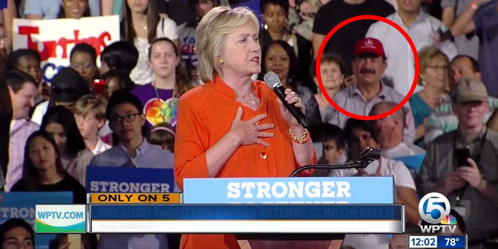 WATCH: Father Of Orlando Terrorist Campaigns For Hillary (VIDEO)