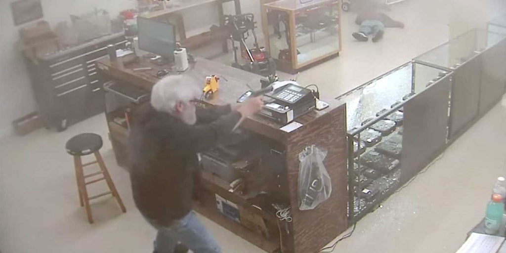 WATCH: Gun Store Owner Shoots and Kills Armed Robber (VIDEO)
