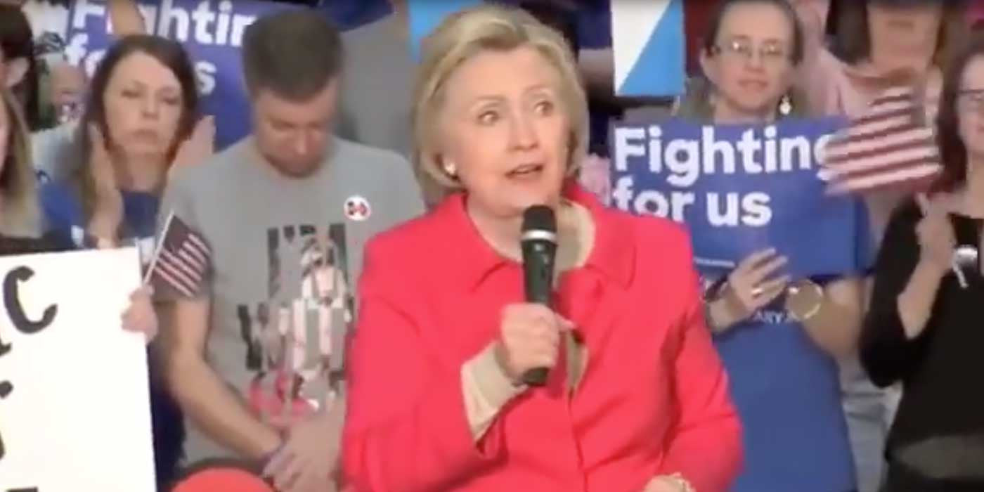 WATCH: Hillary Clinton Appears To Have Another Brain Freeze (VIDEO)