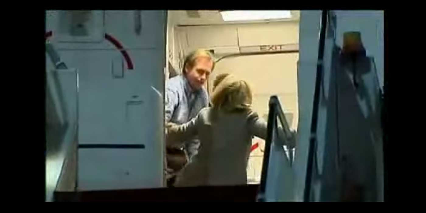WATCH: Hillary Clinton Falls Boarding Plane In 2011 (VIDEO)
