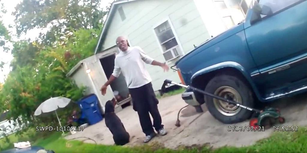 WATCH: How Not To Act When The Police Show Up At Your Home (VIDEO)