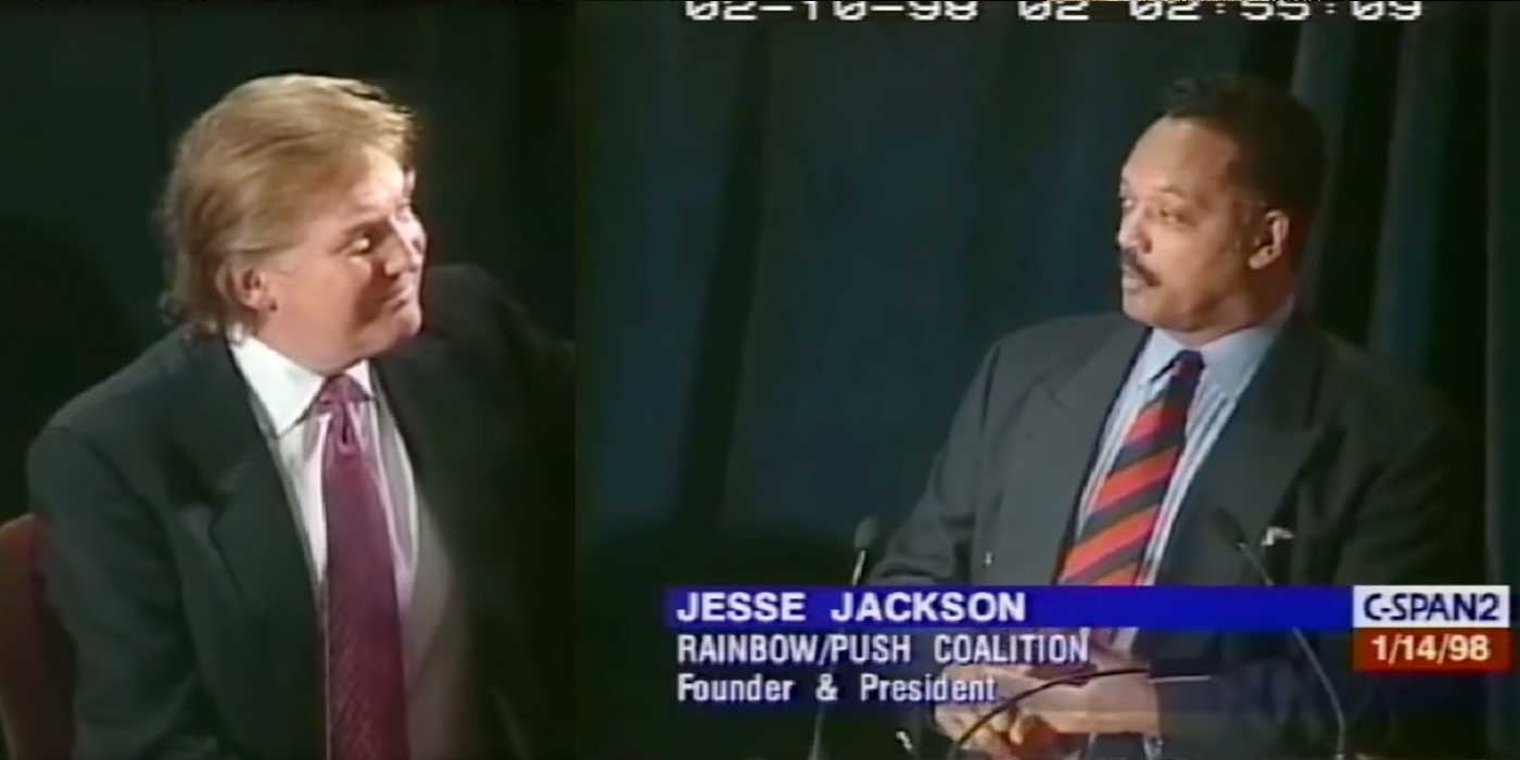 WATCH: Jesse Jackson Praised Donald Trump in Late 1990's (VIDEO)