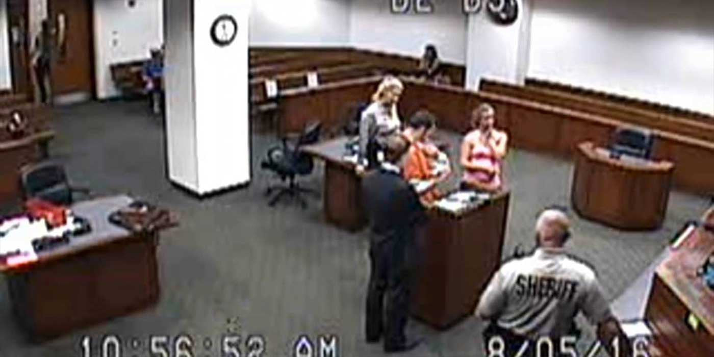 WATCH: Judge Allows Inmate To Meet His Baby For The First Time (VIDEO)
