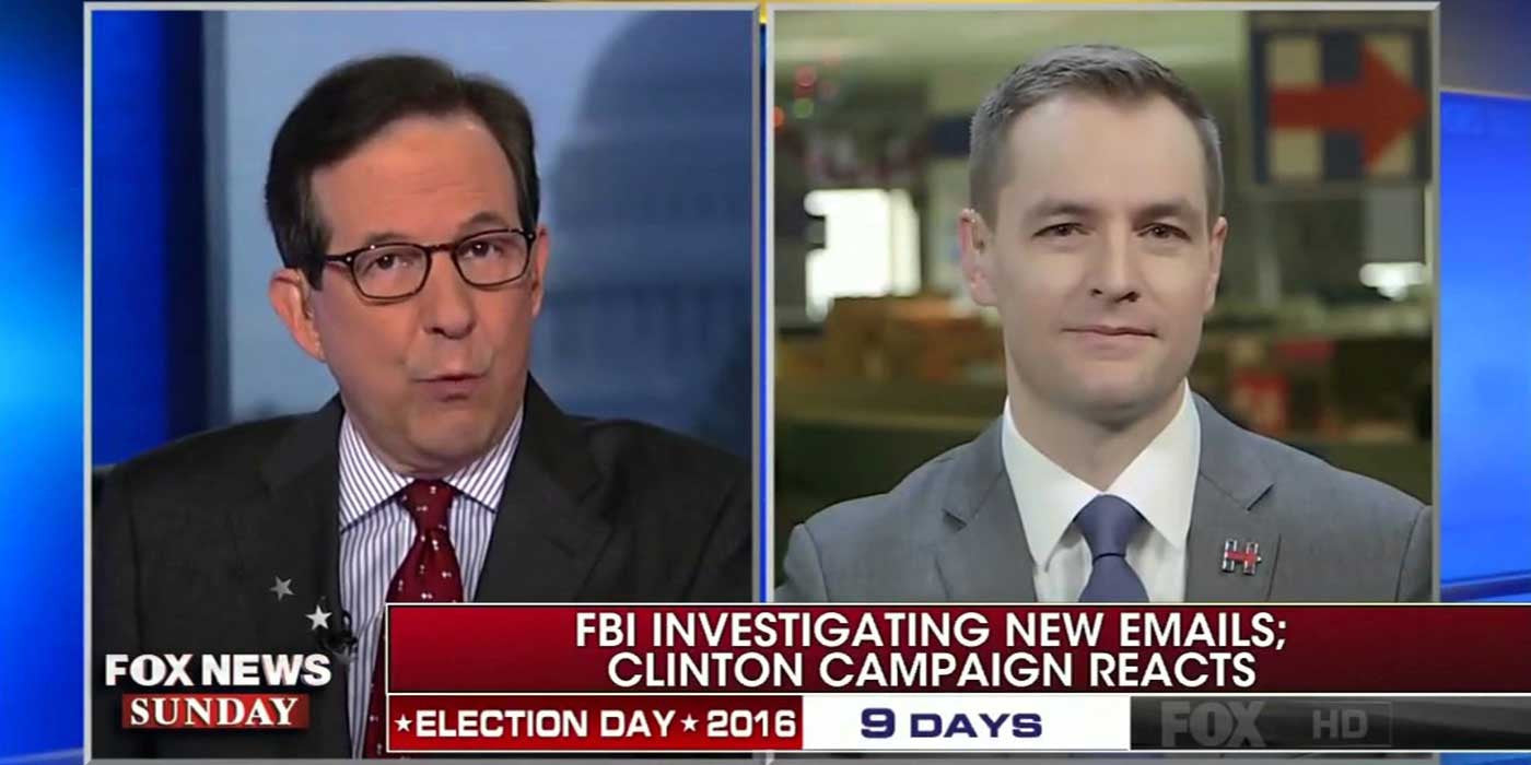 WATCH: Mook admits Hillary lied about Comey's FBI letter (FULL VIDEO)