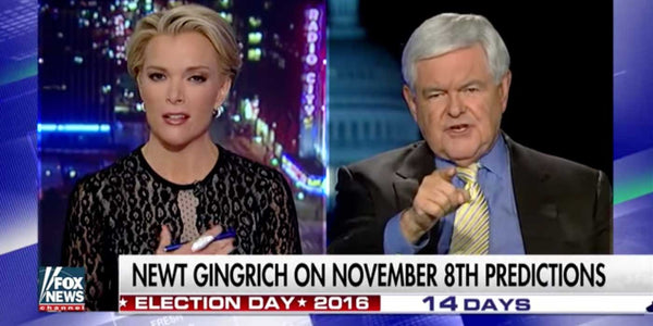 WATCH: Newt Gingrich UNLOADS on Megyn Kelly over Donald Trump (VIDEO)