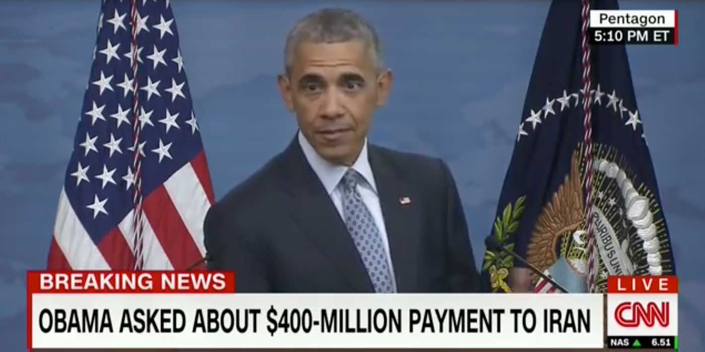 WATCH: Obama Dodges Question About $400 Million Funding Terror (VIDEO)