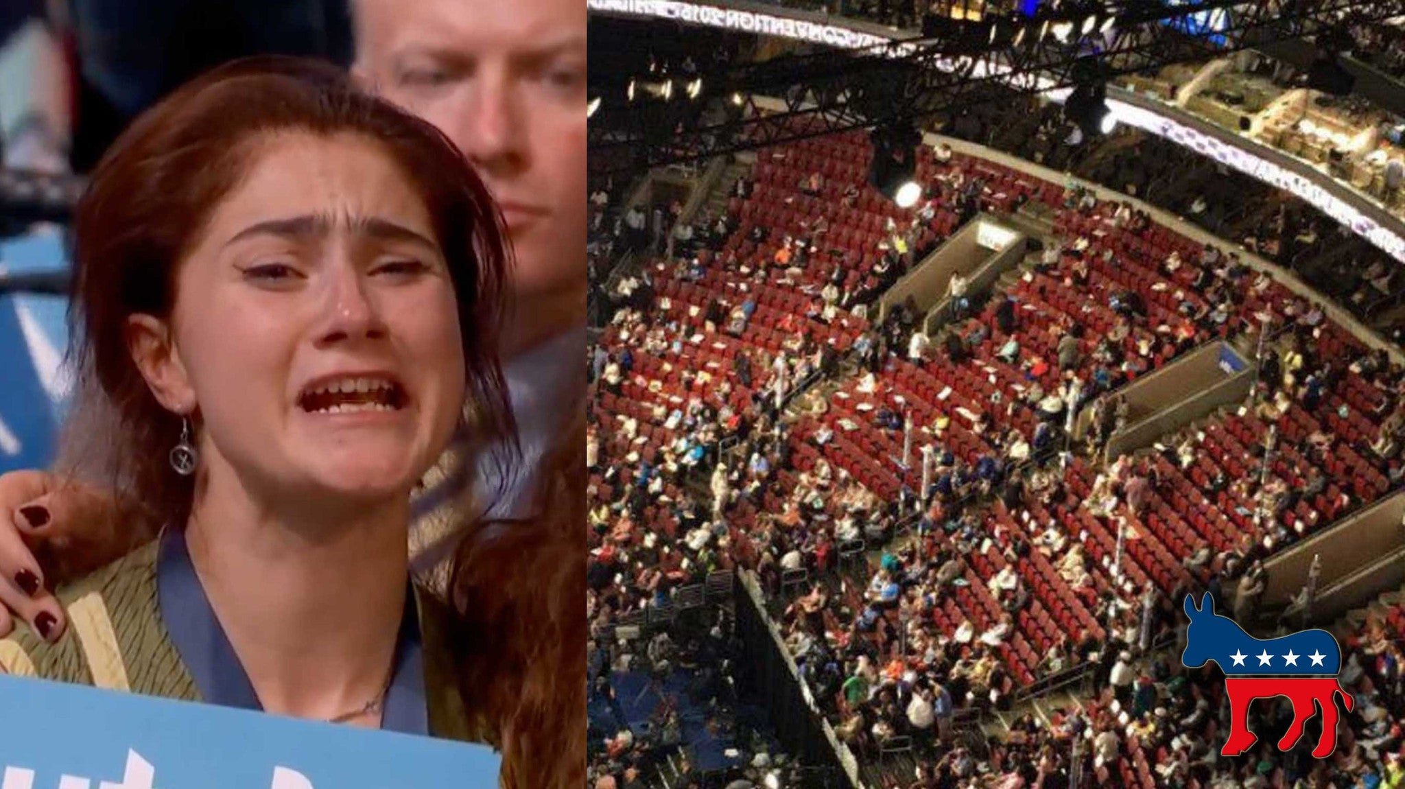 WATCH: Proof DNC Using Seat Fillers To Replace Bernie Voters (VIDEO)