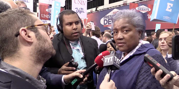 WATCH: Reporter doesn't let Donna Brazile lie to America (VIDEO)