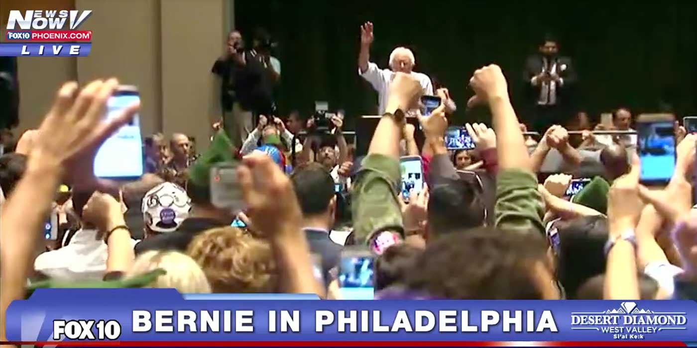 WATCH: Sanders Supporters Boo Bernie For Backing Hillary at DNC