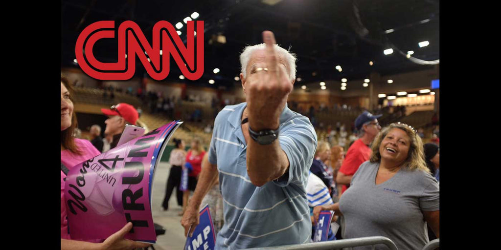 WATCH: Trump Supporter Goes Off on CNN at Donald Trump Rally (VIDEO)