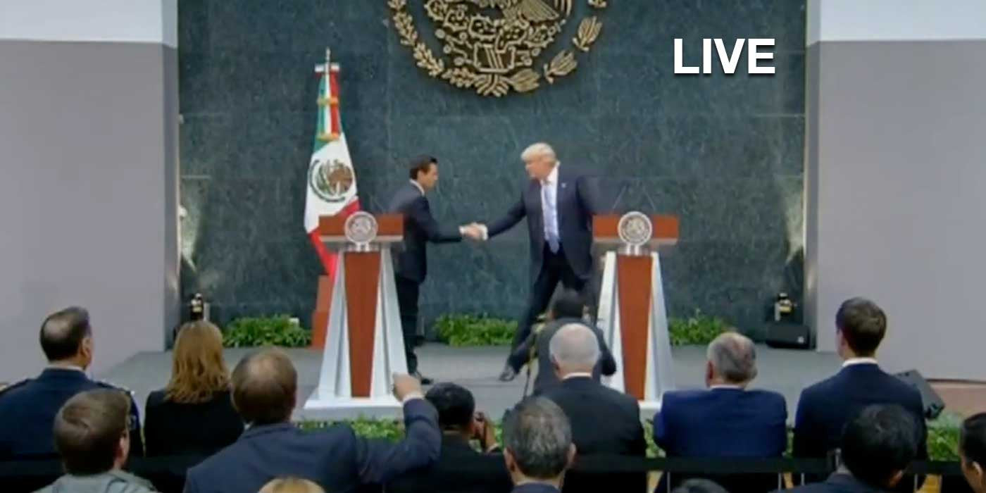 LIVE: Donald Trump Press Conference With Mexican President (VIDEO)
