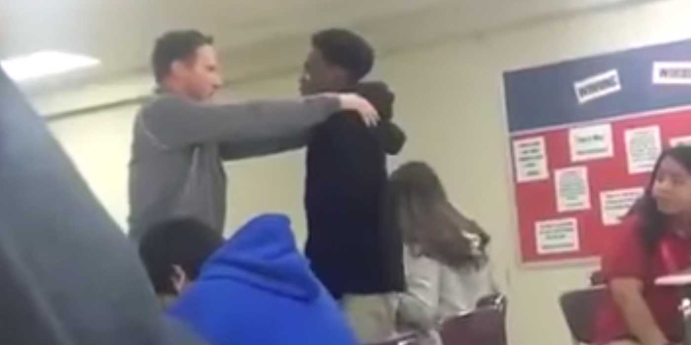 Watch A Teacher Become A Student's Male Role Model