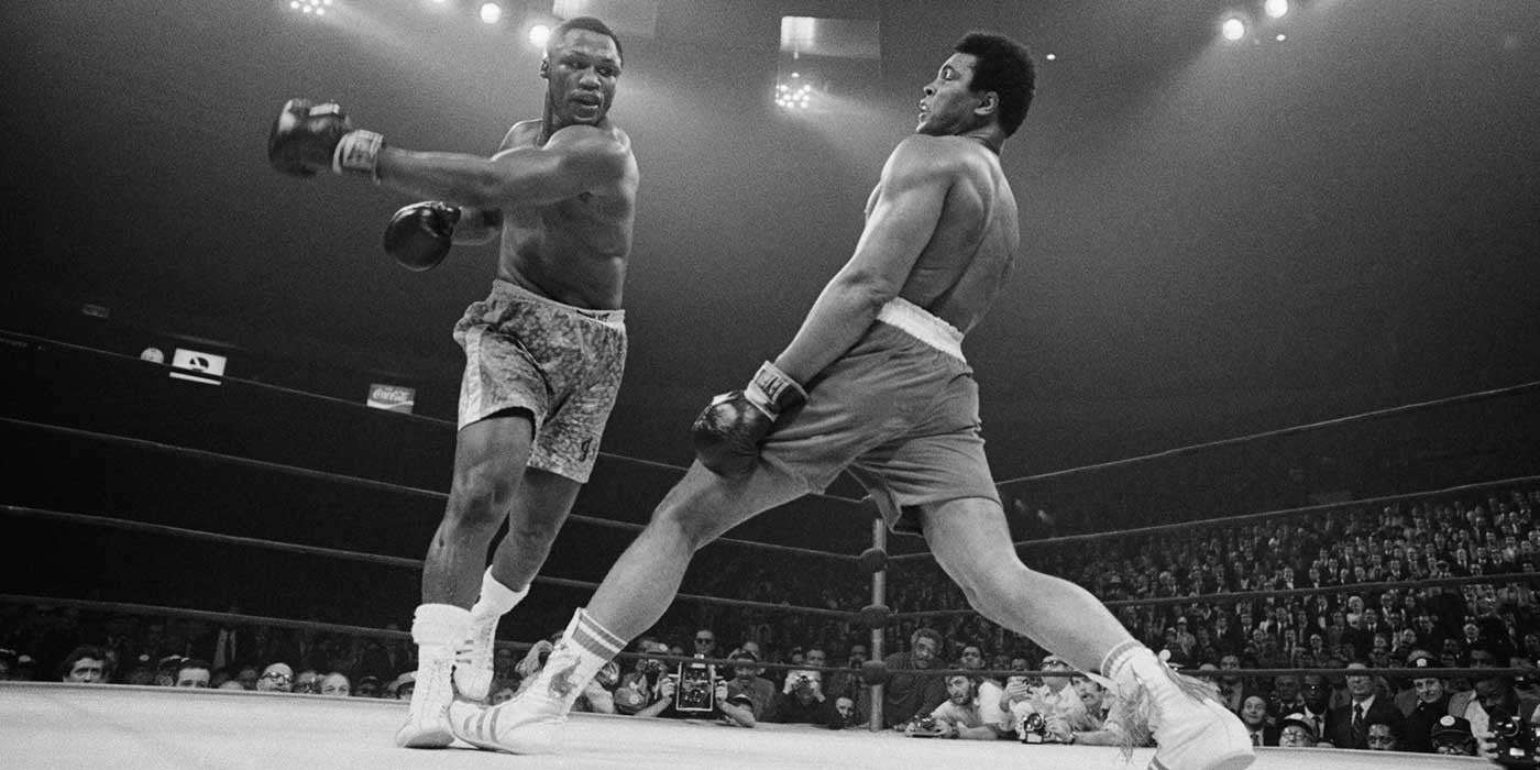 Watch boxing champ Muhammad Ali dodge 23 punches in 10 seconds...