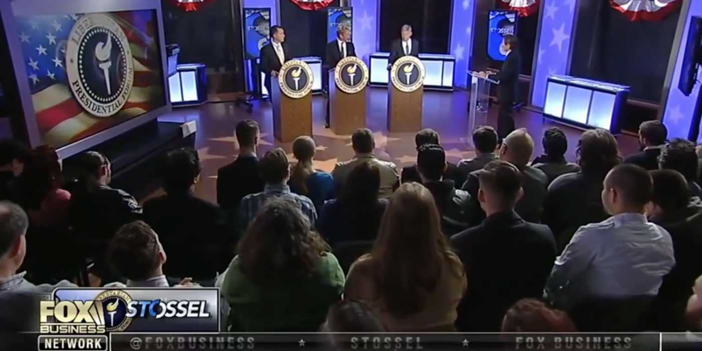 Watch The First Nationally Televised Libertarian Debate