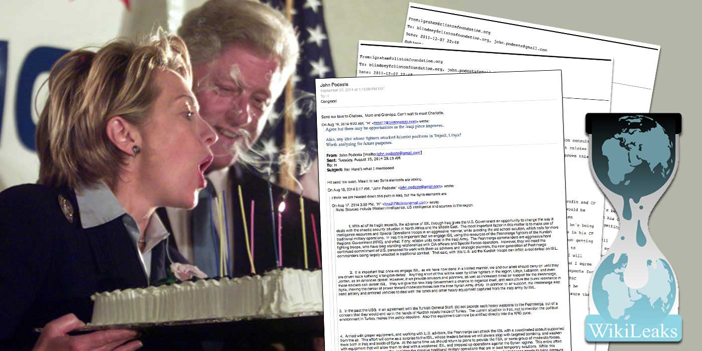 WiKiLeaks: Bill Clinton's $1 Million Dollar birthday check from Qatar