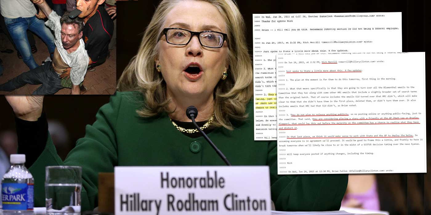 WiKiLeaks: Leaked email reveals Hillary Clinton's Benghazi cover-up