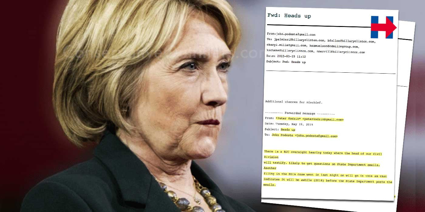 WikiLeaks: Proof Hillary has a mole at the Department of Justice