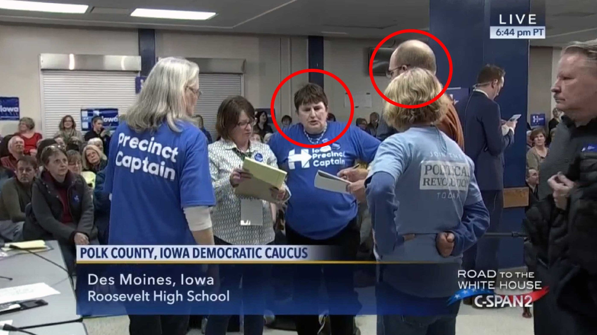 Clinton Caucus Caught on Camera Committing Voter Fraud in Iowa?