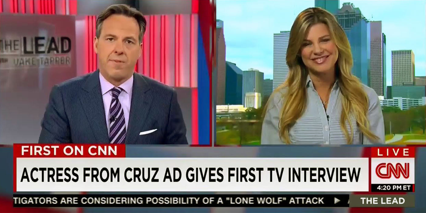 Ted Cruz Porn Actress Defends Herself In First TV Interview