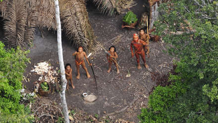 Uncontacted Amazon Tribe: First ever aerial footage (VIDEO)