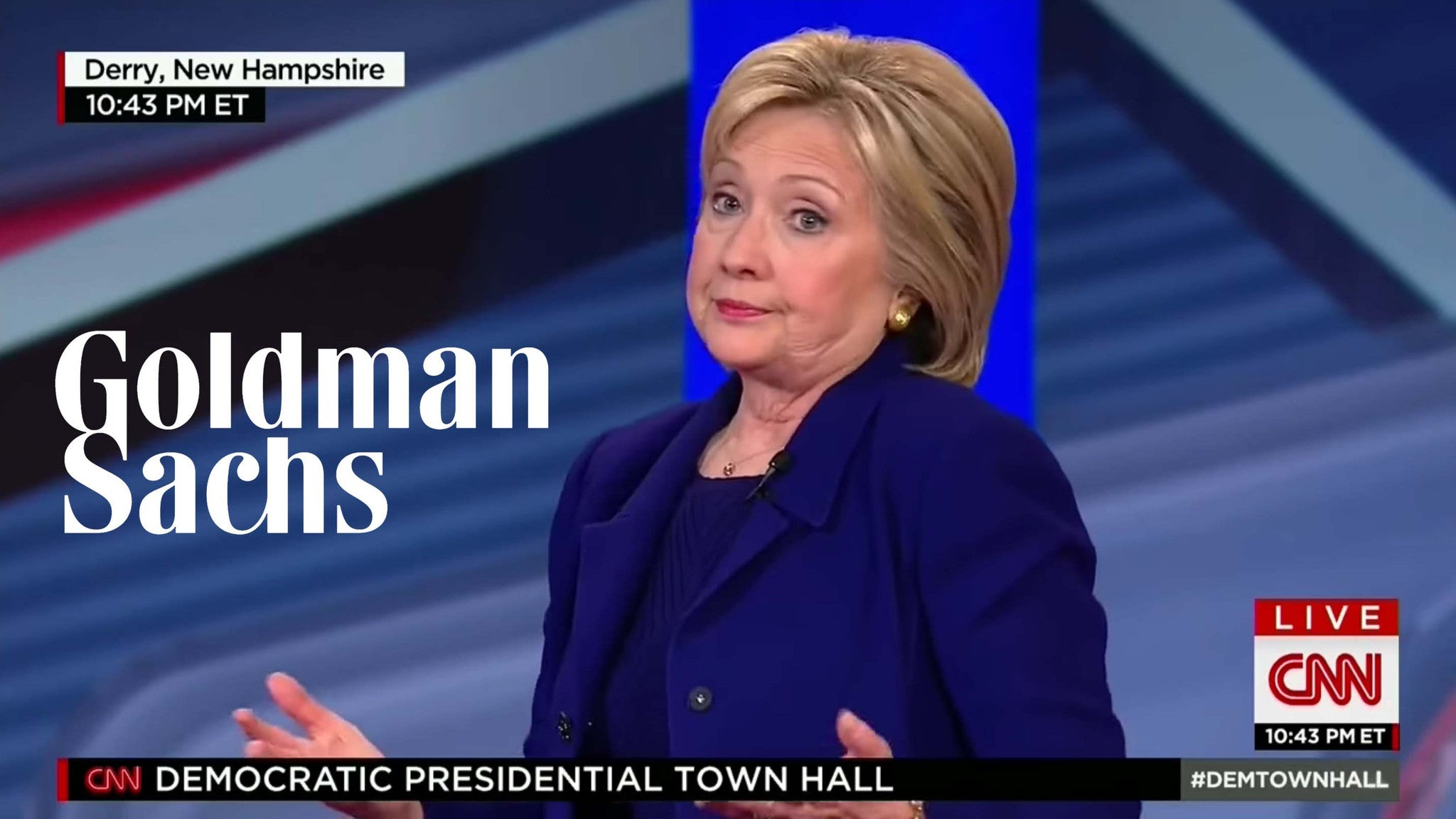 FOR SALE? Hillary Clinton Defends Taking $675,000 From Goldman Sachs