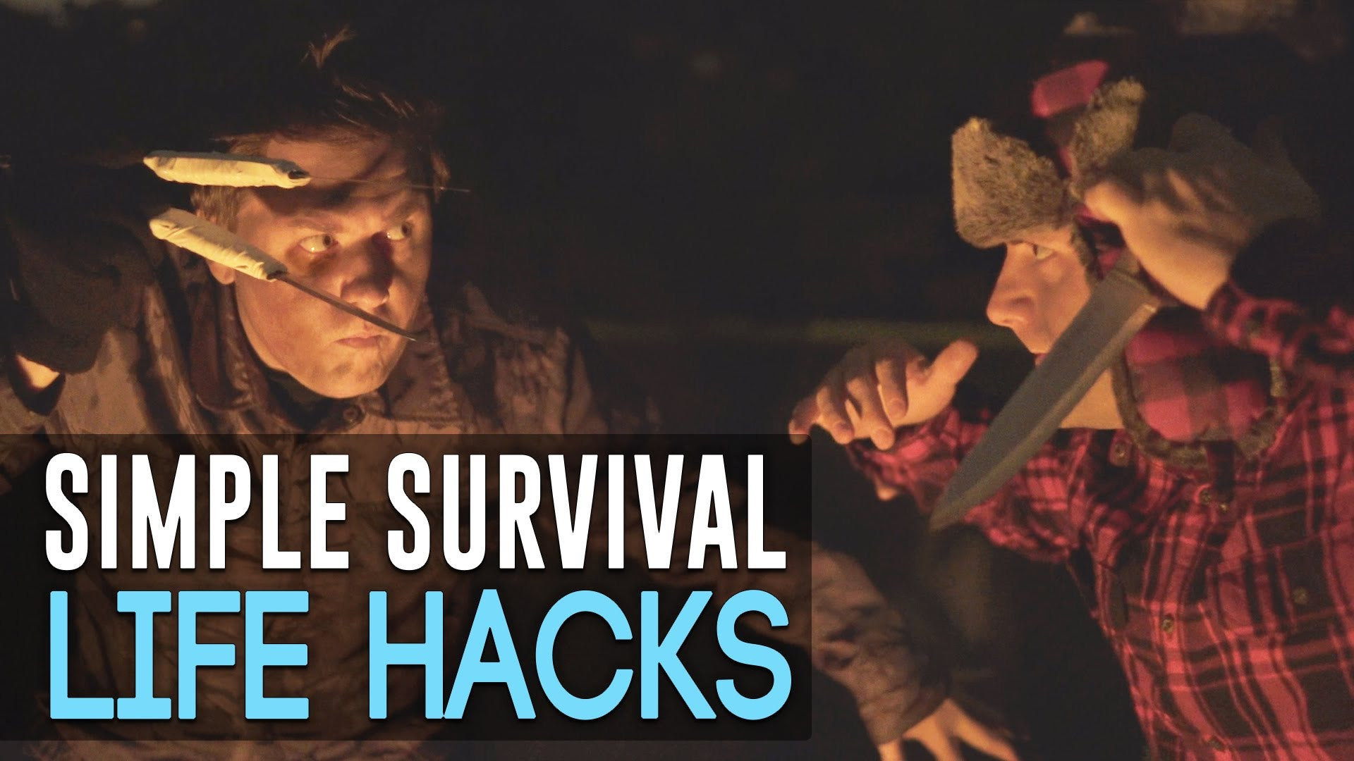 Simple Survival Life Hacks (Video)