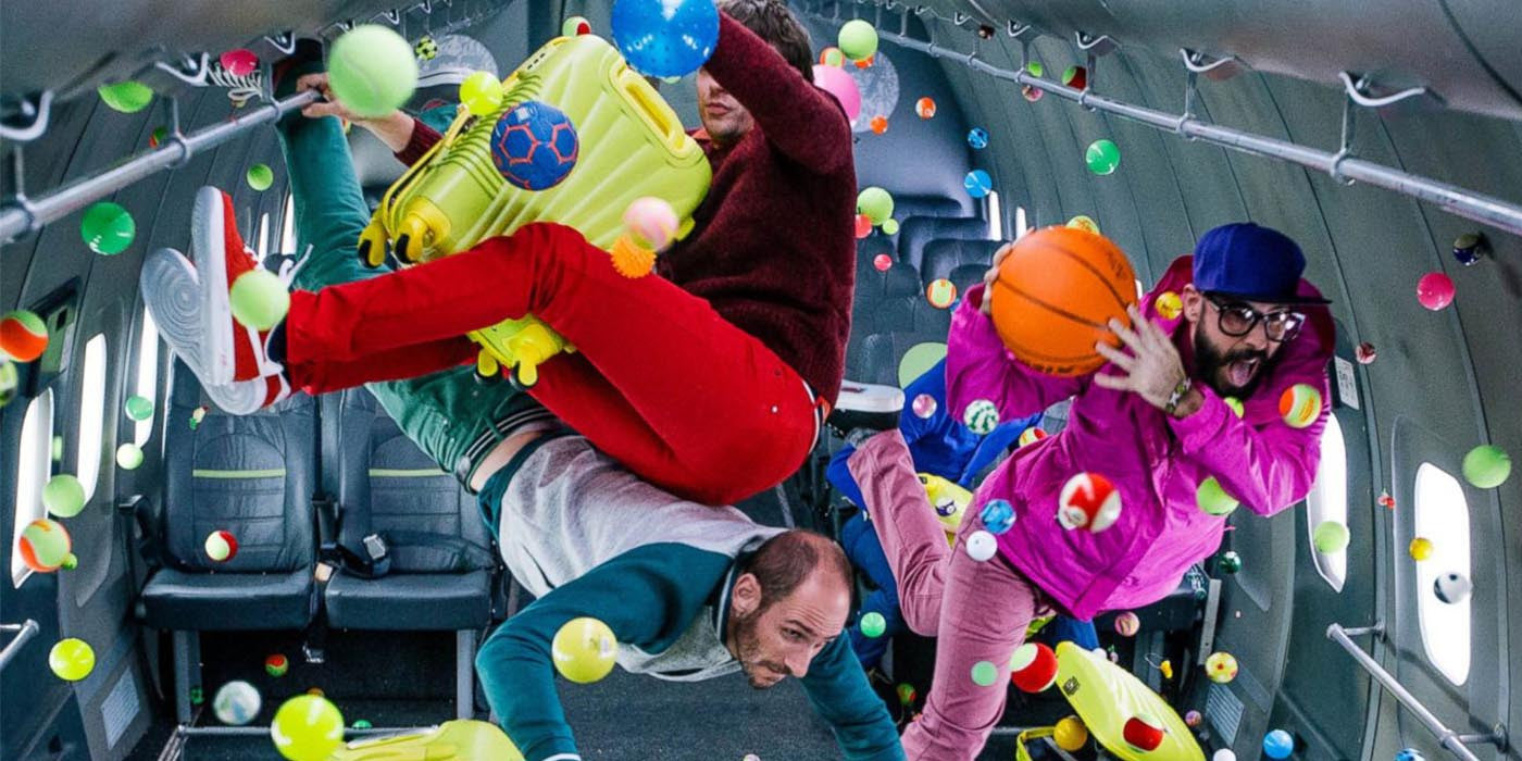 WATCH: OK Go's new music video was filmed in zero gravity