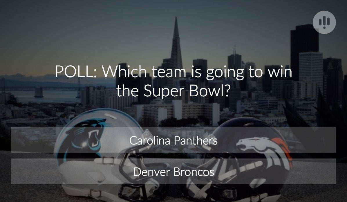 POLL: Which team is going to win the Super Bowl?