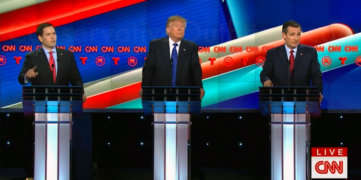 POLL: Who won the Texas Republican debate?