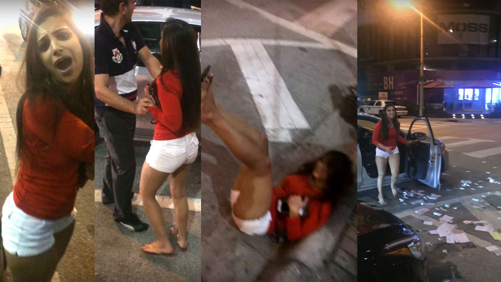 This entitled woman destroyed an Uber driver's personal car (Video)