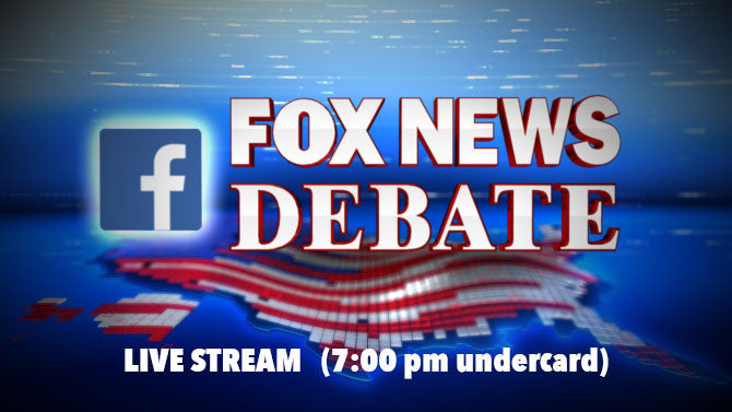 LIVE STREAM: Fox News Republican Debate (7pm undercard)