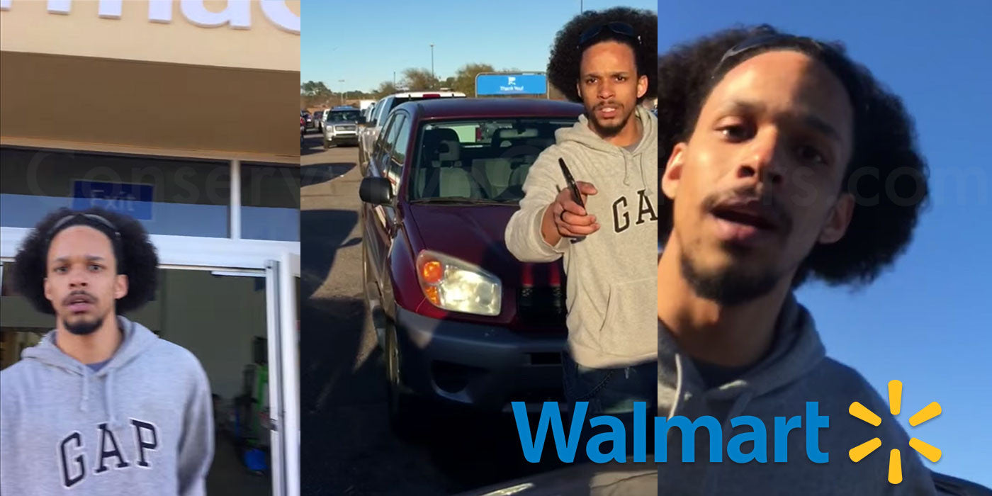 Walmart loss prevention bans man for filming shoplifter