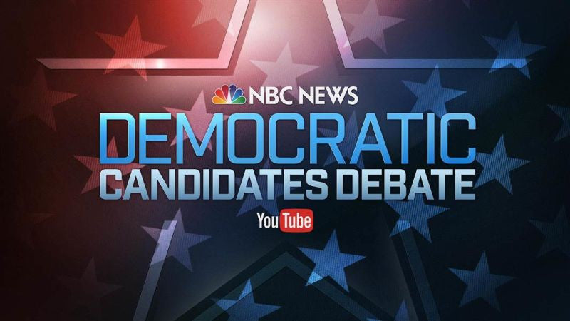LIVE STREAM: DEMOCRATIC PRESIDENTIAL DEBATE (2016)