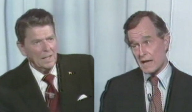 Ronald Reagan and George Bush debate illegal immigration in 1980 (Video)