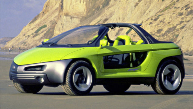 The Most Ridiculous Concept Car Ever pontiac stinger