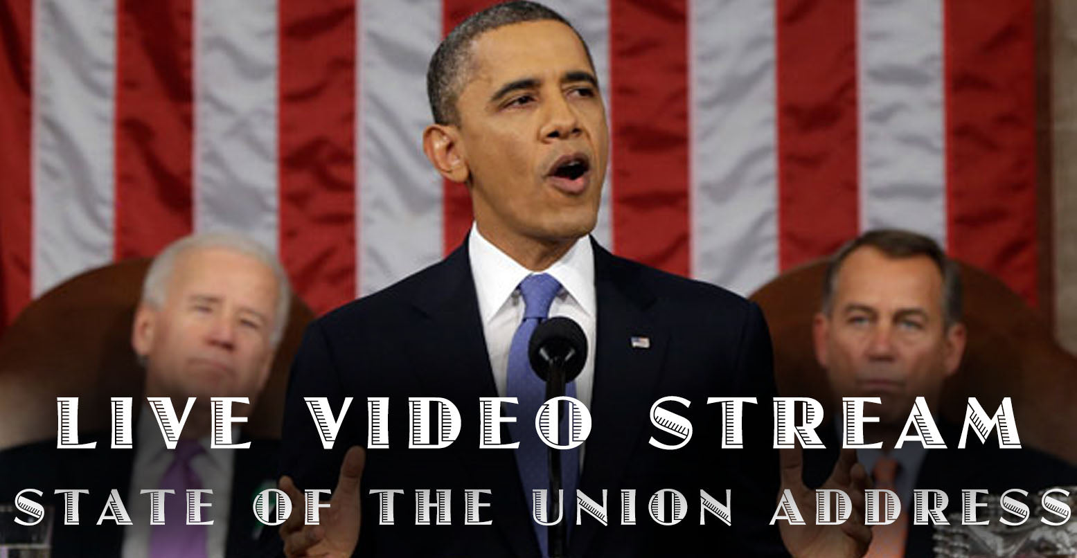LIVE VIDEO: President Obama Delivers the State of the Union Address