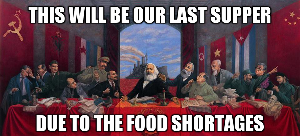 The Communist Last Supper...