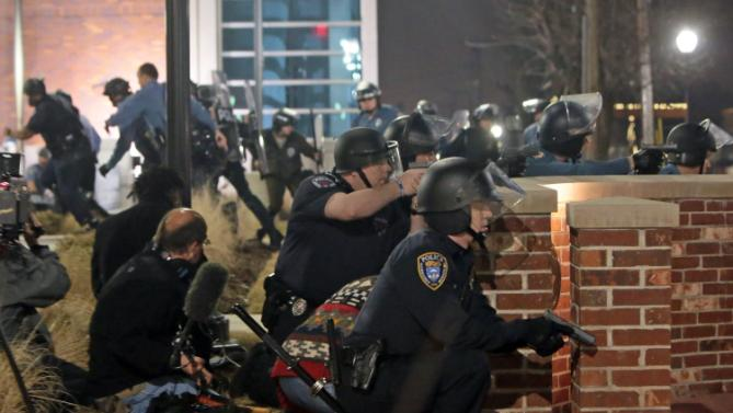 RAW VIDEO: Two Ferguson Cops Shot After Police Chief Quits...