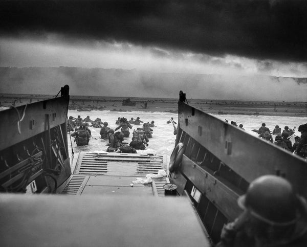 72 years ago on June 6, 1944 over 160,000 Allied soldiers landed on the beaches of Normandy during World War II.