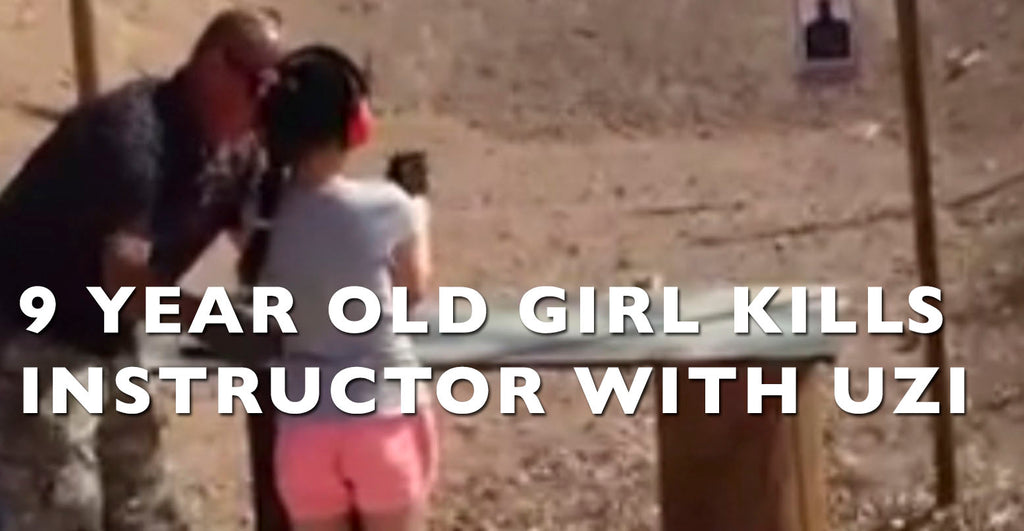 9 Year Old Girl Accidentally Kills Instructor with Uzi Submachine Gun