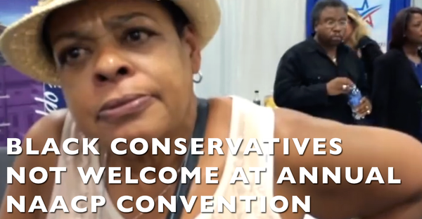 VIDEO: Black Conservatives Not Welcome @ Annual NAACP Convention