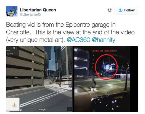 Beating vid is from the Epicentre garage in Charlotte