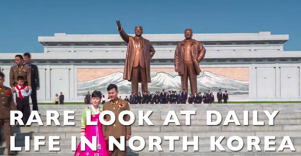 VIDEO: Rare Look At Daily Life In North Korea