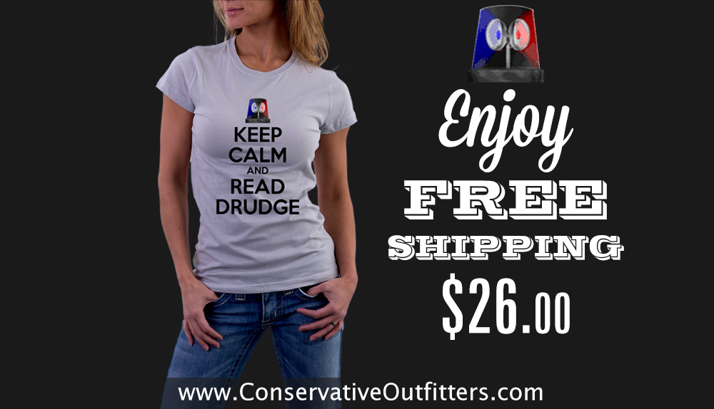 The Drudge Report - Keep Calm and Read Drudge - Shirt - iPhone Case - Conservative Outfitters