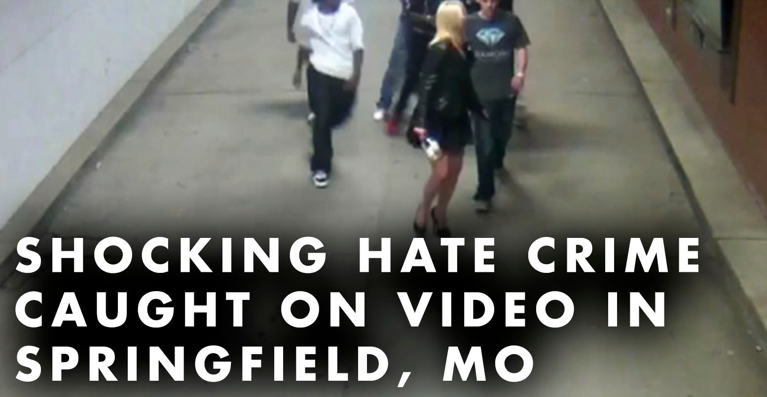 Shocking Hate Crime Caught On VIDEO In Springfield, MO