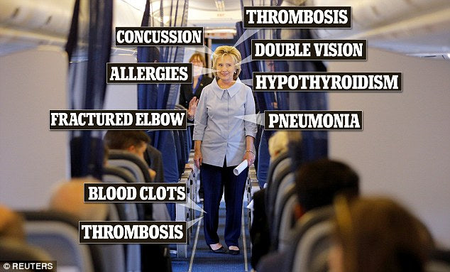 Hillary Clinton health problems