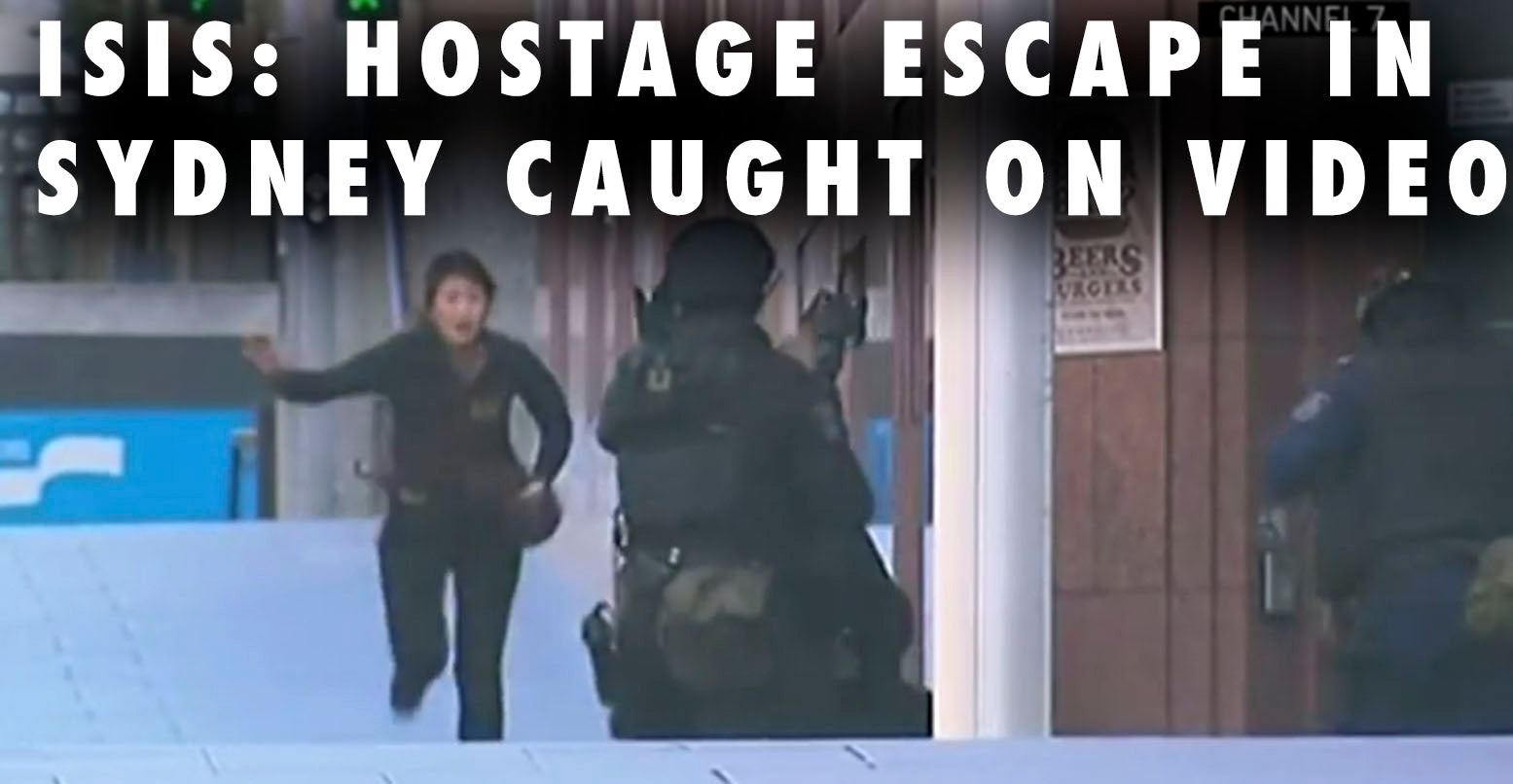 ISIS: Hostage Escape In Sydney Caught On VIDEO