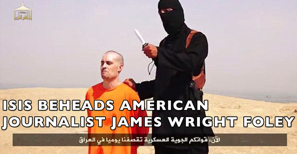 ISIS BEHEADS AMERICAN JOURNALIST James Wright Foley... Fate Of Another Depends On Obama