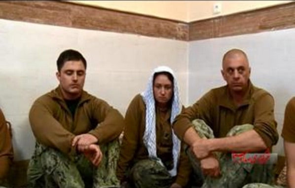 Iran Releases Humiliating Videos and Photos of Sailors in Captivity...