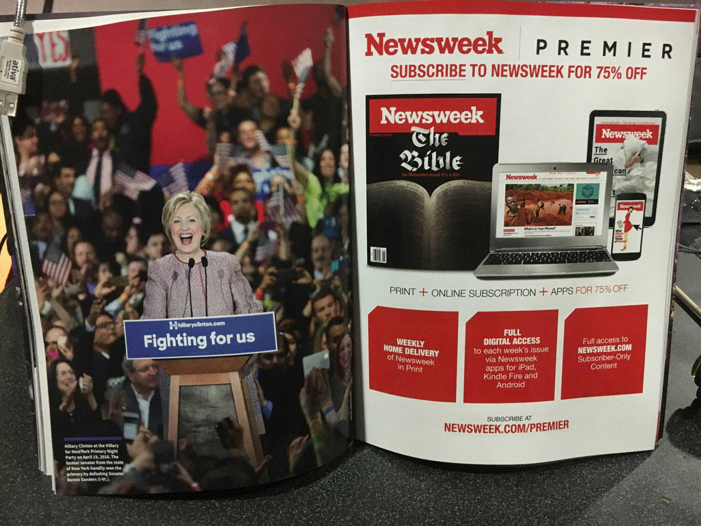 "LEAKED: A look at Newsweek's recalled Hillary Clinton ""MADAM PRESIDENT"" issue 10"